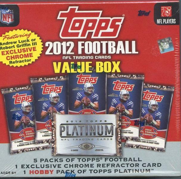 2012 Topps Football Value Box
