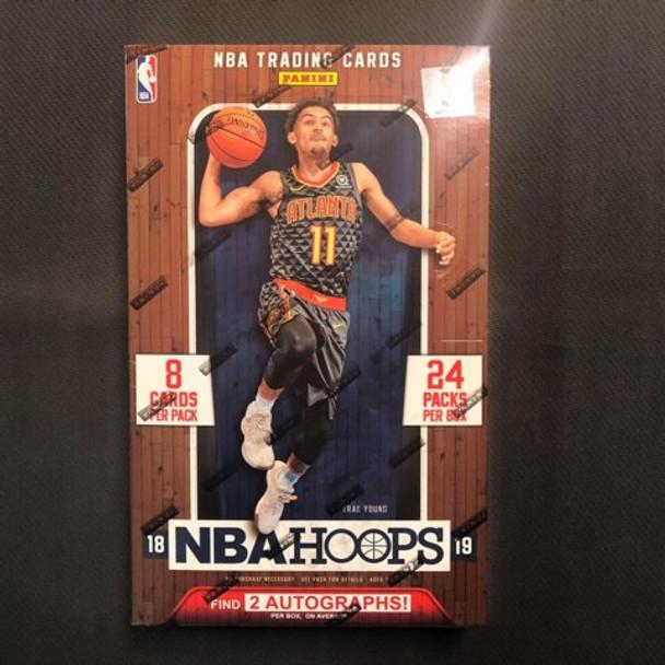 2018/19 Hoops Basketball Hobby Box
