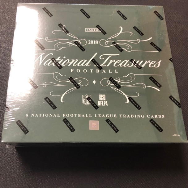 2018 Panini National Treasures Football Hobby Box