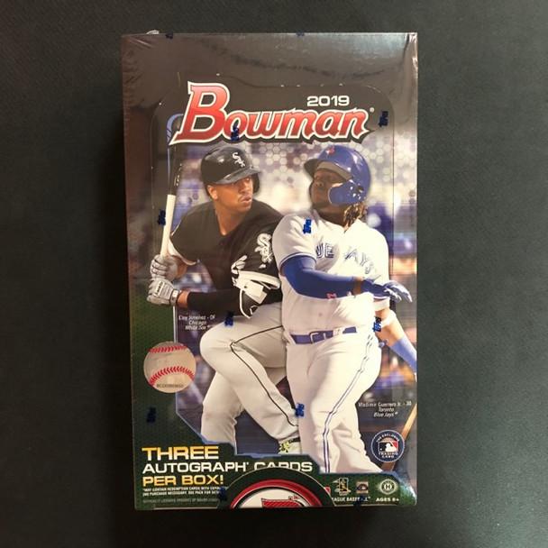 2019 Bowman Baseball Jumbo HTA Box