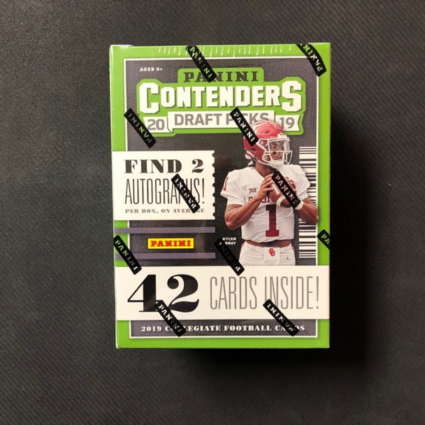 2019 Panini Contenders Draft Picks Football Blaster Box