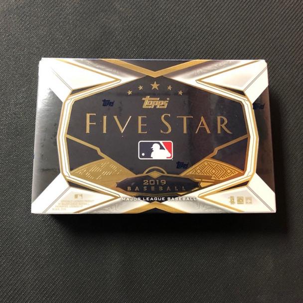 2019 Topps Five Star Baseball Hobby Box