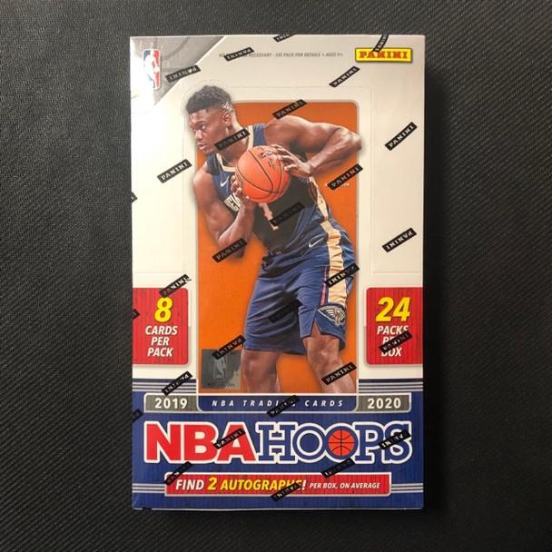 2019/20 Panini NBA Hoops Basketball Hobby Box
