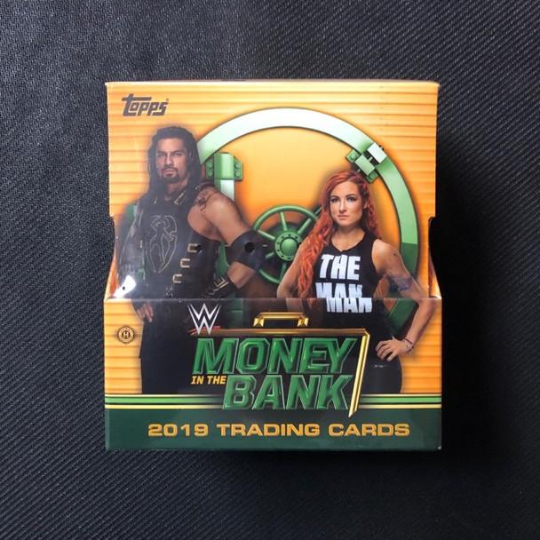 2019 Topps WWE Money in the Bank Hobby Box