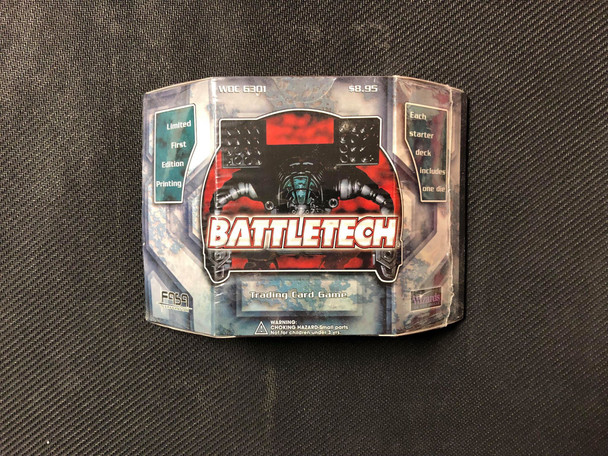 Battletech Card Game Starter Deck Limited First Edition Printing Sealed