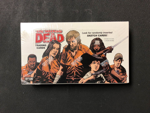 Cryptozoic The Walking Dead Comic Series Trading Cards Box