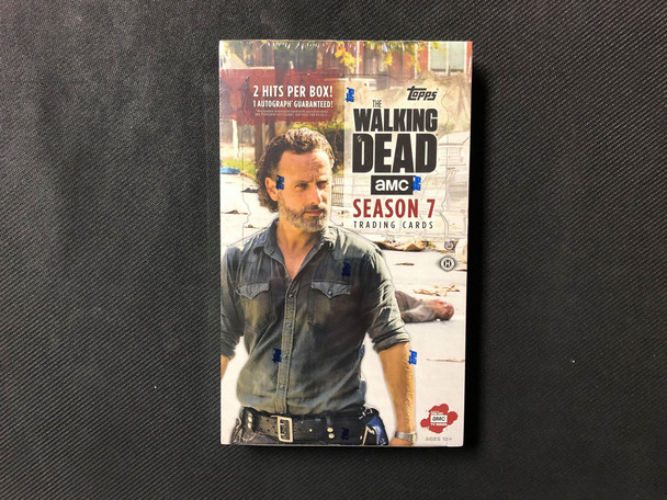 Topps The Walking Dead Season 7 Trading Cards Box