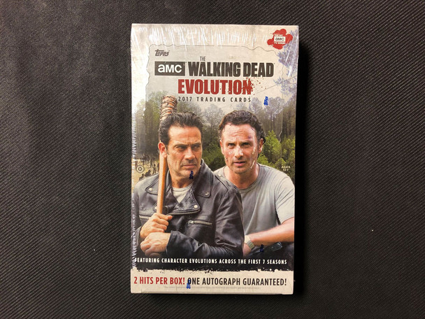2017 Topps The Walking Dead Evolution Trading Cards Box