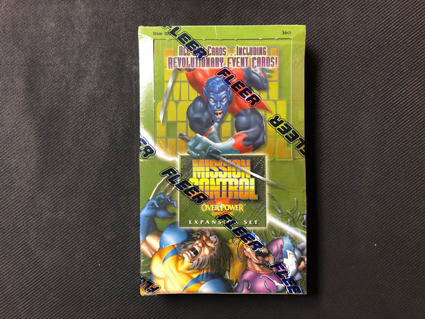 Marvel Overpower Mission Control Expansion Set Box