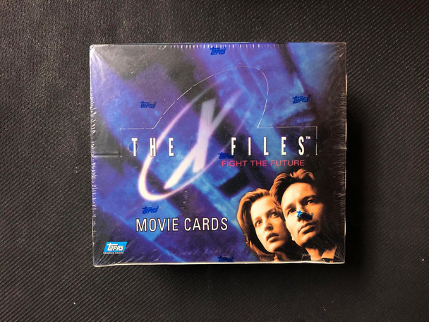 Topps The X-Files Fight the Future Movie Cards Box
