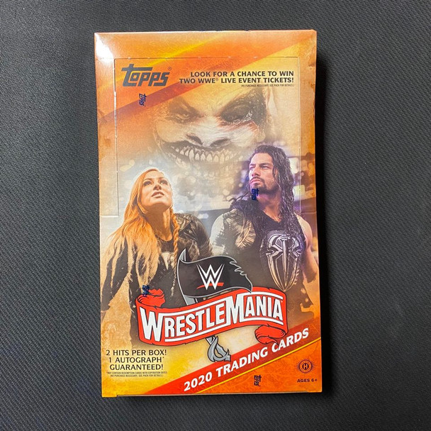 2020 Topps WWE Road To Wrestlemania Hobby Box