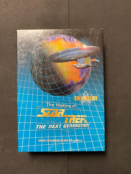Skybox The Making of Star Trek The Next Generation Gold Edition Box