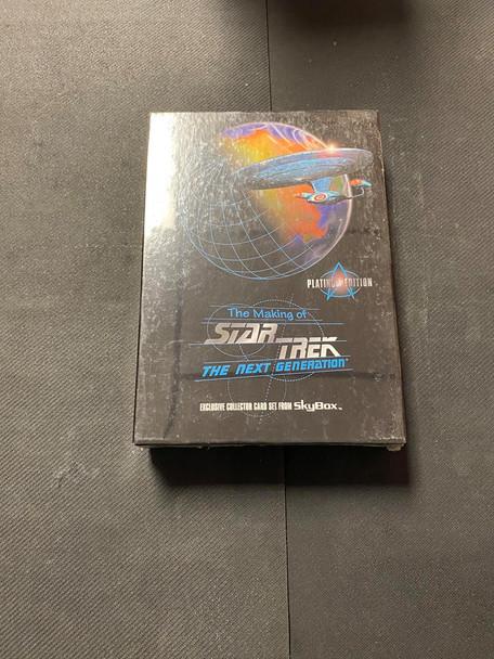Skybox The Making of Star Trek The Next Generation Platinum Edition Box