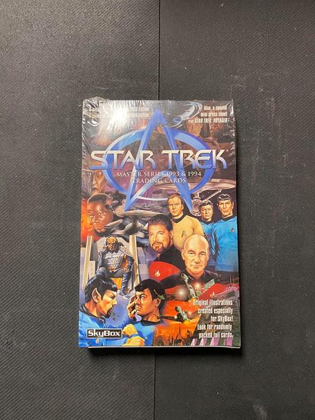 Star Trek Master Series 1993 & 1994 Trading Cards Box