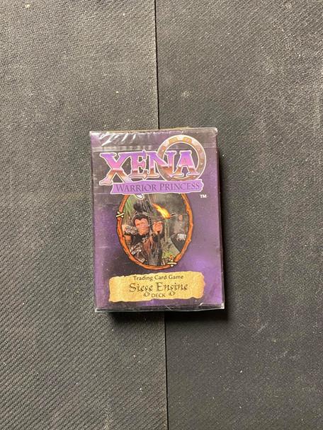 Xena Warrior Princess Siege Engine Deck