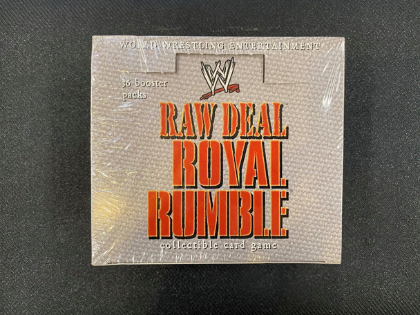 Raw Deal Royal Rumble Booster Box