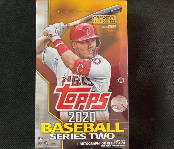 2020 Topps Series 2 Baseball Hobby Box
