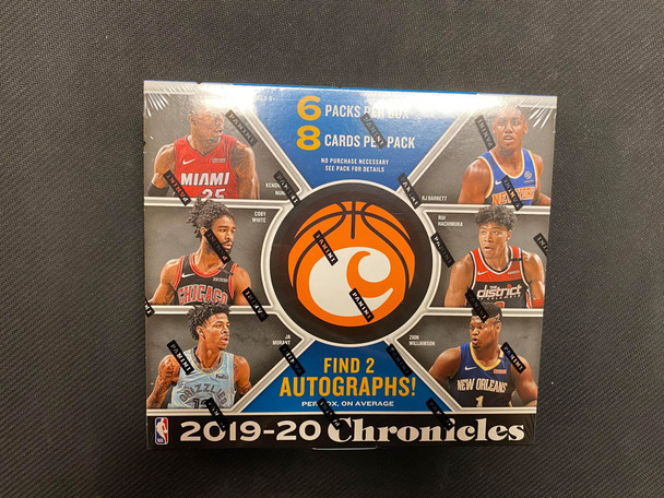 2019/20 Panini Chronicles Basketball Hobby Box