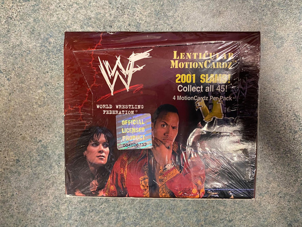 WWF WWE Lenticular Motion Slams Box