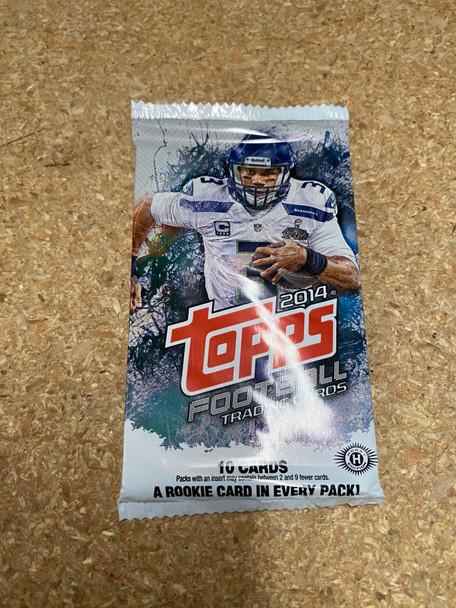 2014 Topps Football Hobby Pack