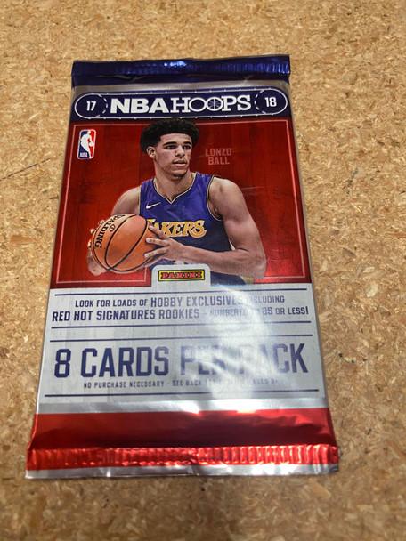 2017/18 Panini NBA Hoops Basketball Hobby Pack