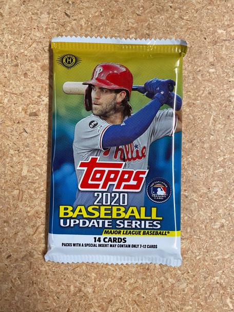 2020 Topps Update Baseball Hobby Pack