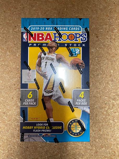 2019/20 Panini NBA Hoops Premium Stock Basketball Hobby Hybrid Box