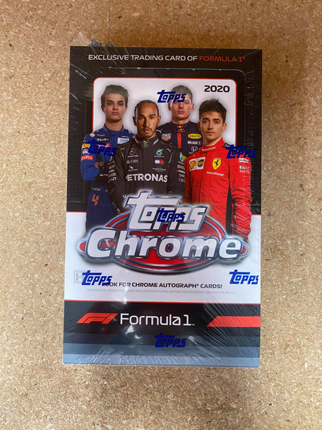 2020 Topps Chrome Formula 1 Racing Hobby Box