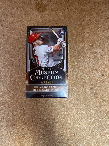 2021 Topps Museum Collection Baseball Hobby Pack