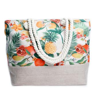 Tropical Fruits Tote Bags