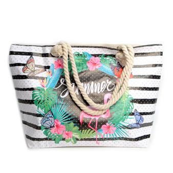Striped Summer Bag