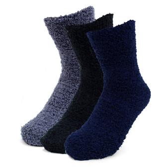 Women's Solid Color Warm Fuzzy Socks