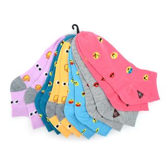 Women's Emojis Low Cut Fun Socks