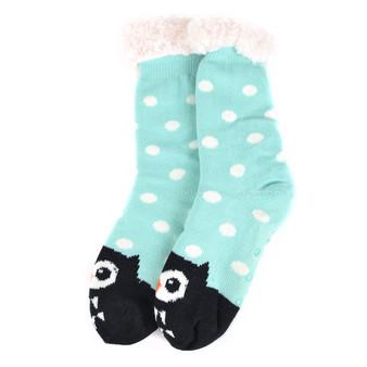 Ladies Plush Sherpa Socks