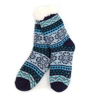 Women's Plush Sherpa Socks