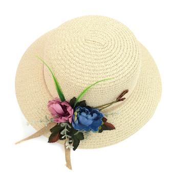 Women's Flower Floppy Hat