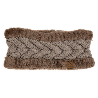 Women's Thick Fleece Lined Knit Winter Head Band