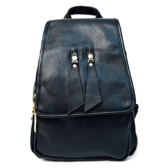 Small Leather Backpack for Women