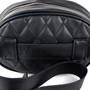 Black Quilted Belt Bag