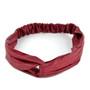 12pc Assorted Ladies Criss Cross Solid Headbands