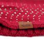 Women's Studded Fleece Lined Knit Winter Head Band