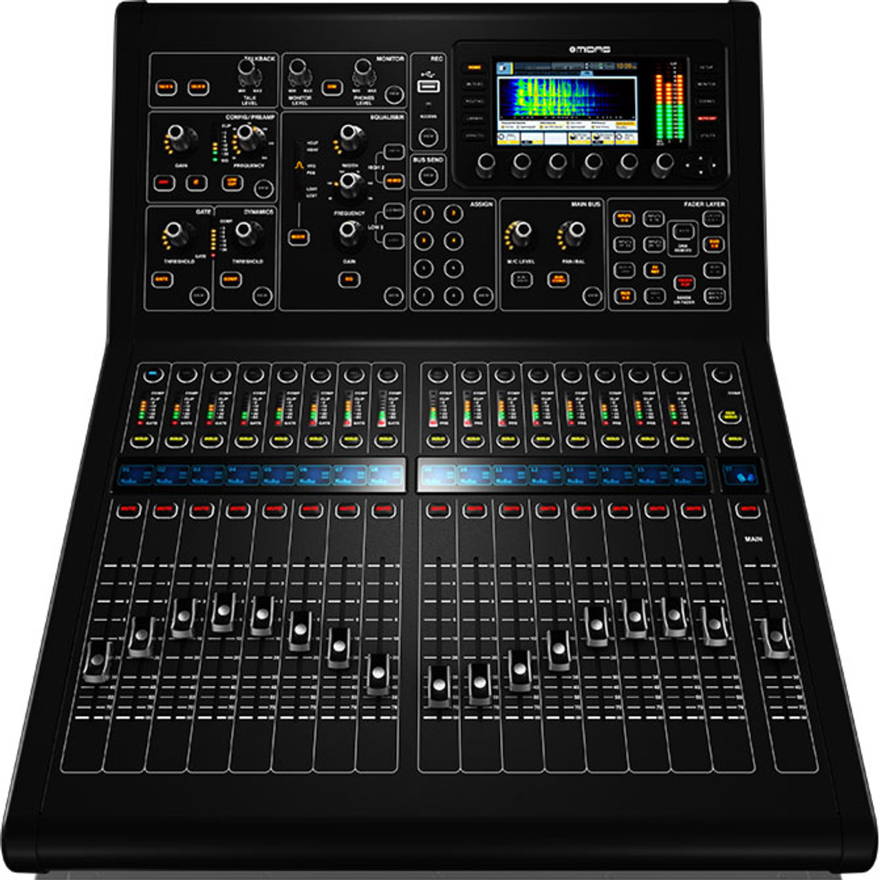 Midas M32RLIVE 40-Input Digital Console with 25 Mix Buses and 16 Midas Mic  PreAmps