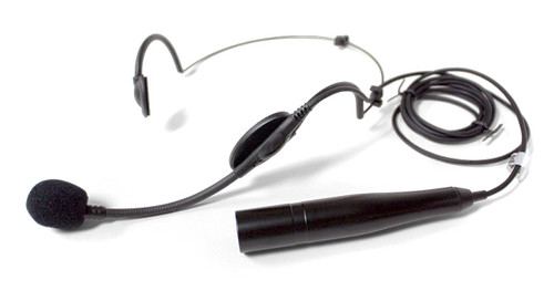 Shure WH20XLR Dynamic Headset Microphone Includes 3-pin Male XLR Connector with Detachable Belt Clip Wired
