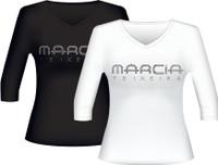 Marcia Teixeira® Women's Shirt with Rhinestones