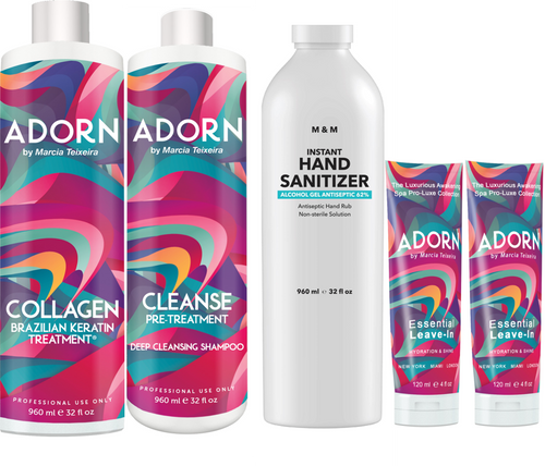 32oz Adorn Collagen Treatment: Free Products