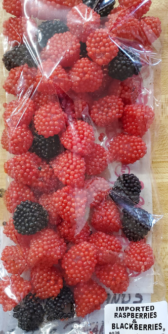 Imported Raspberries & Blackberries