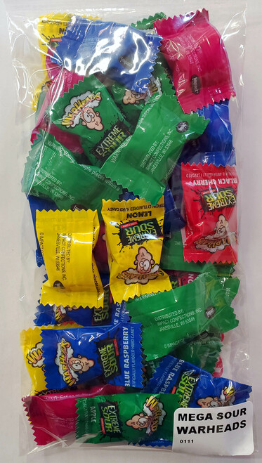 Extreme Sour Warheads