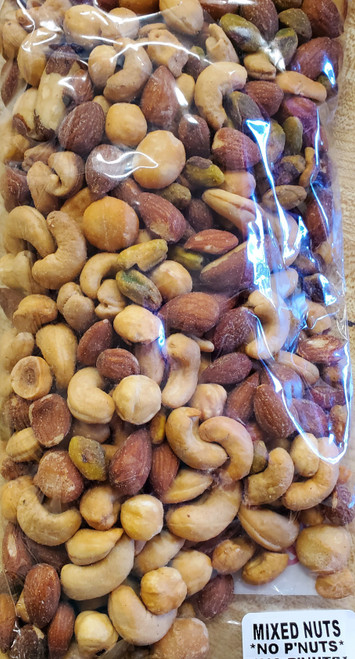 Mixed Nuts without Peanuts