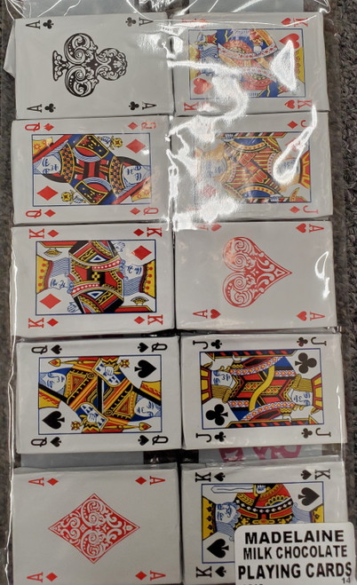 Madelaine Milk Chocolate Playing Cards