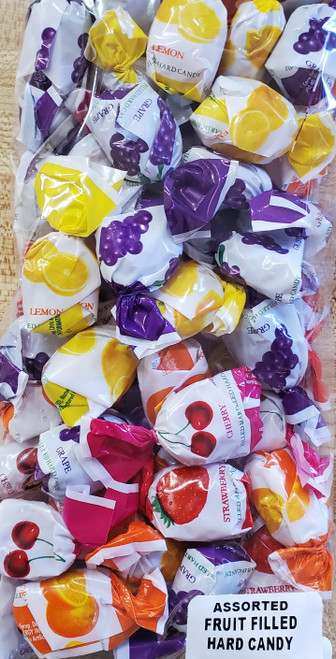 Assorted Fruit Filled Hard Candy
